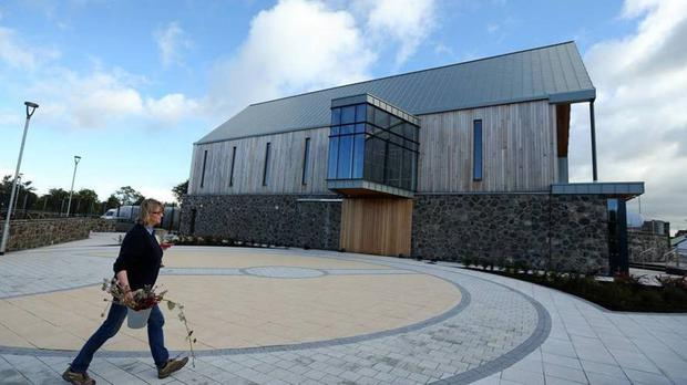 A general view of the Seamus Heaney HomePlace