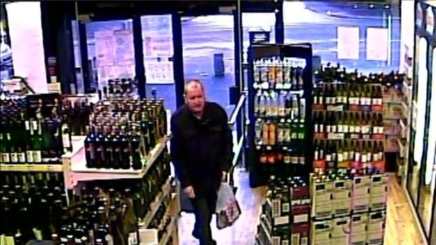 Basil McAfee was last seen alive in an off-licence