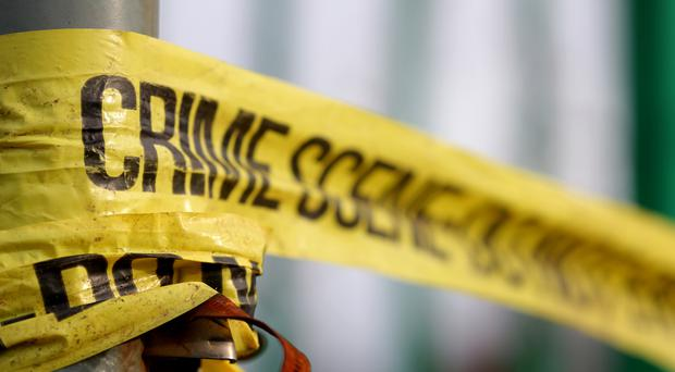 A couple were tied up and robbed in their own home