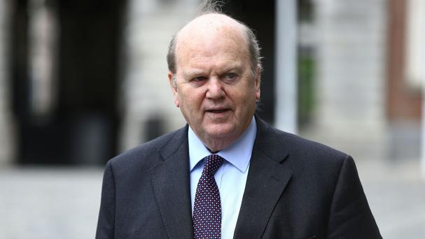 Ireland's Finance Minister Michael Noonan says looking for evidence of political interference in a sale by Nama to Cerberus is a dead end