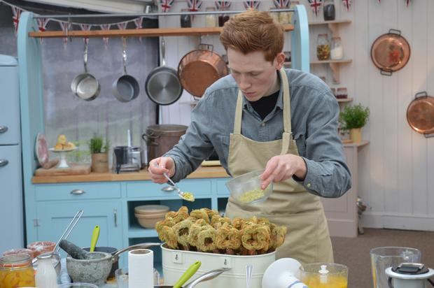 Andrew Smyth on the Great British Bake Off