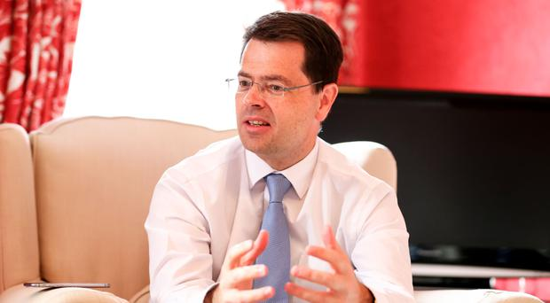 Northern Ireland Secretary of State James Brokenshire interviewed by the Belfast Telegraph's Yvette Shapiro at Stormont House yesterday