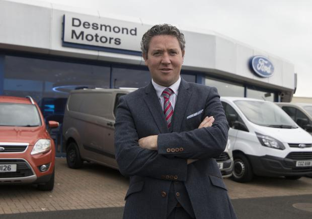 Garrett Mallon, managing director of Desmond Motors in Londonderry