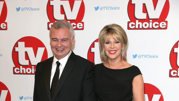 Eamonn Holmes with wife Ruth Langsford.