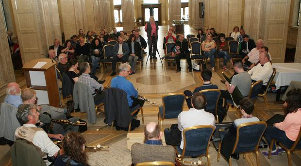 International Uilleann Piping Day at Stormont