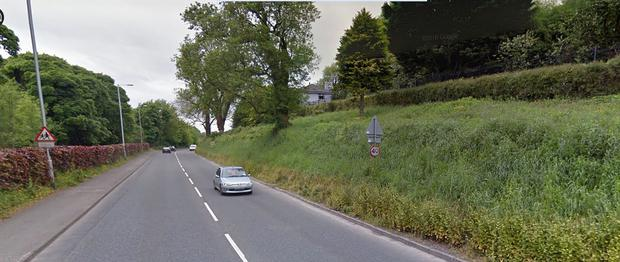 The Derrygonnelly Road in Enniskillen where the fatal crash occurred