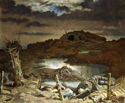 William Orpen's Somme painting will be shown at the Ulster Museum