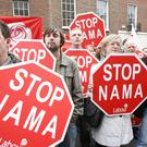 The Nama sale led to widespread protests