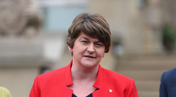 First Minister Arlene Foster welcomed the funding for the Orange Halls