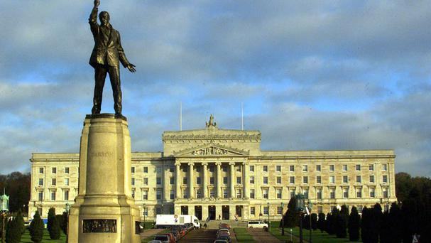 MLAs were briefed by HM Revenue and Customs officials at the Parliament Building in Belfast