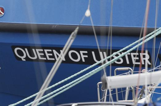 The Fisheries vessel Banrion Uladh, which was renamed Queen of Ulster by DUP Agriculture Minister Michelle McIlveen