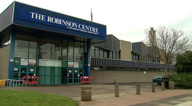 The Robinson Centre was closed in 2015 amid concerns over asbestos