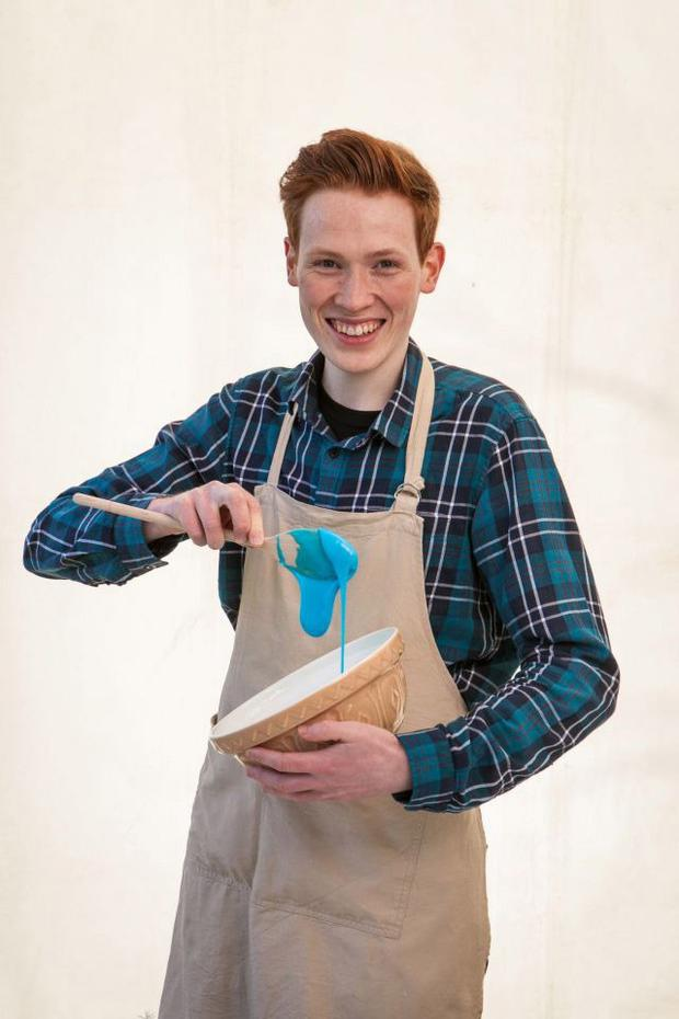 Andrew Smyth is through to the finals of Bake Off
