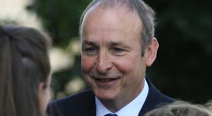 Leader of Fianna Fail Micheal Martin said Ireland must become less dependent on business with the UK in the post-Brexit era
