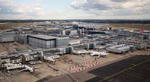 Heathrow Airport is nearing capacity