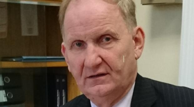 The DUP's Lord Morrow with the controversial report