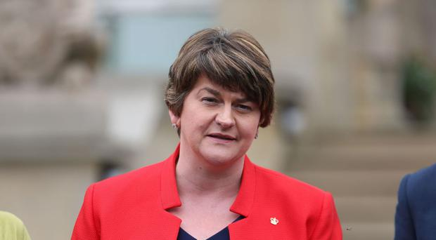 Democratic Unionist leader Arlene Foster has declined an invite to attend next week's
