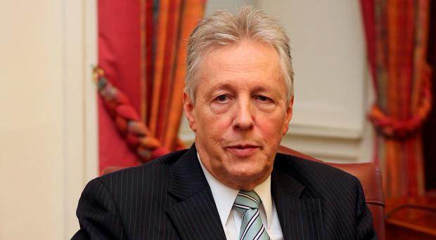 Low profile: Peter Robinson