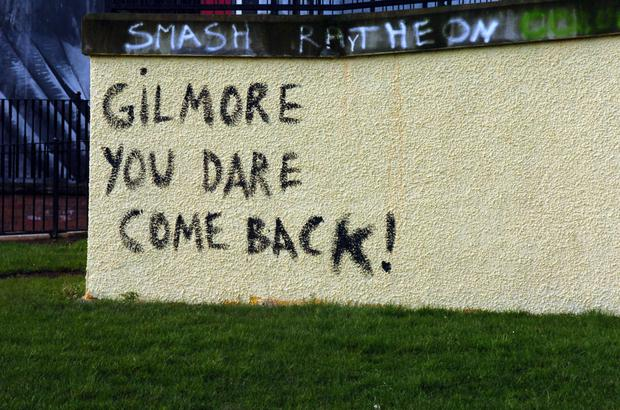 Graffiti in the Bogside area of Derry