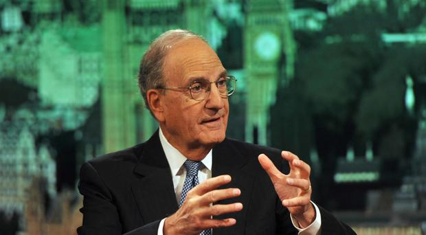 Senator George Mitchell, who was Bill Clinton's special envoy to Northern Ireland