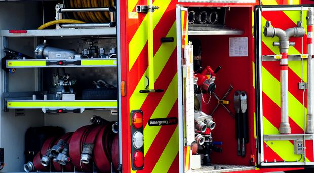 Four families have been forced from their homes following an arson attack in Newcastle