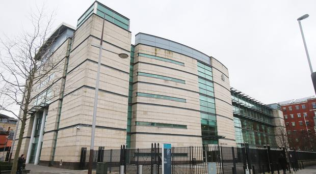 Carrickfergus man urinated on his now ex-girlfriend before punching her in the face outside El Divino night club.