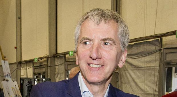 Mairtin O Muilleoir is in San Francisco and New York to encourage American firms to invest