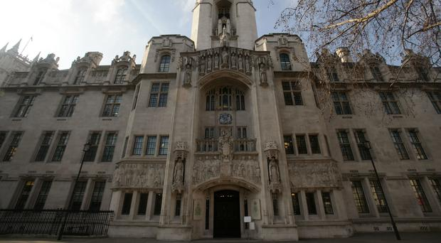 Supreme Court justices are hearing the challenge against a ruling at the Court of Appeal last year
