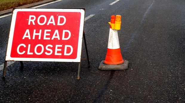 The road is expected to remain closed for some time.