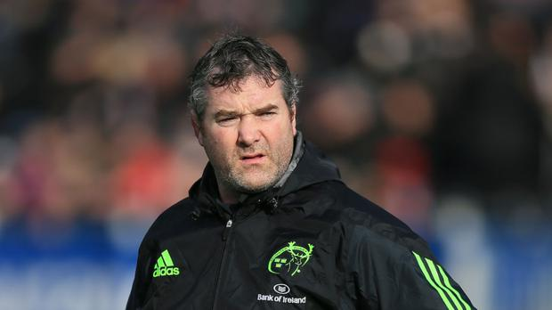 Anthony Foley was Munster's head coach