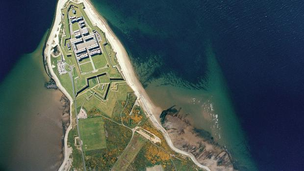 An aerial view of Fort George army barracks near Inverness (Royal Commission on the Ancient and Historical Monuments of Scotland/PA Wire)