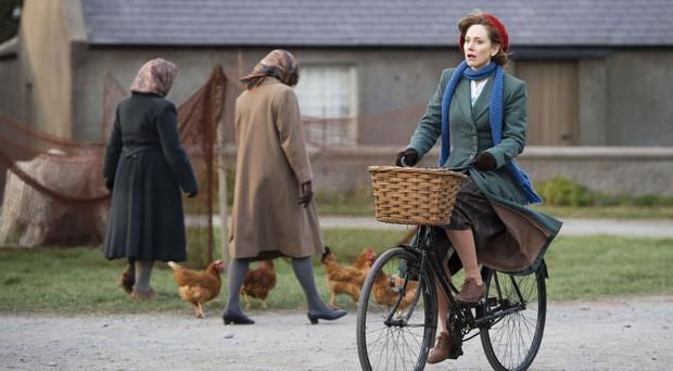 Hattie Morahan as Rose Coyne in the new BBC drama My Mother And Other Strangers