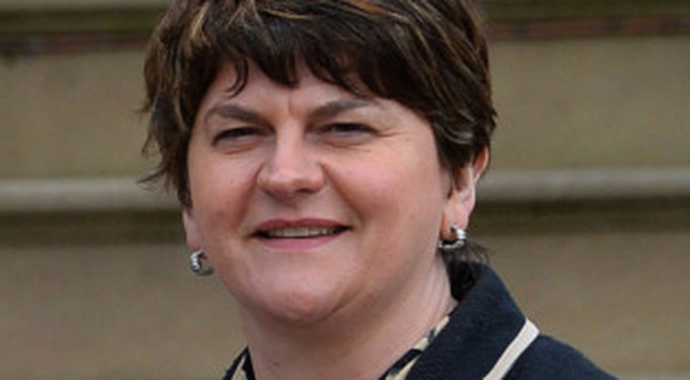 Scathing attack: Arlene Foster