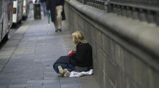 The report said 24% of children in Northern Ireland were living in poverty and the problem was forecast to increase