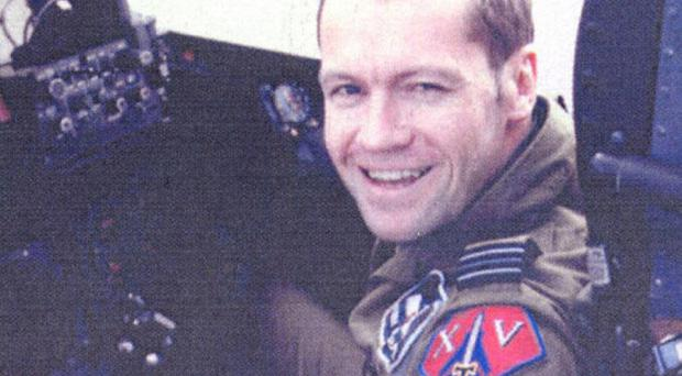 Squadron Leader Patrick Marshall was killed in Iraq in 2005