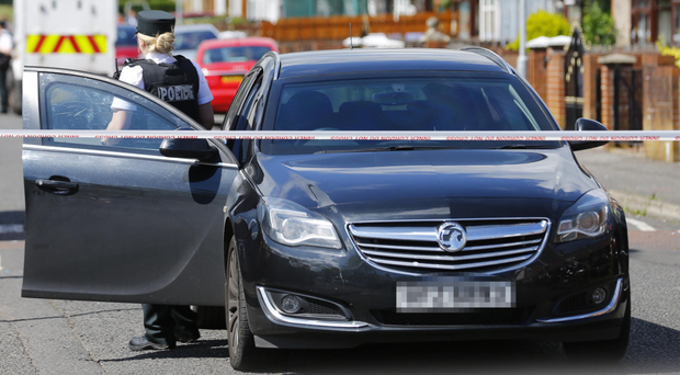 The PSNI's Vauxhall Insignia has been criticised