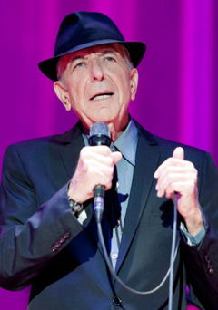 Leonard Cohen was still touring earlier this year