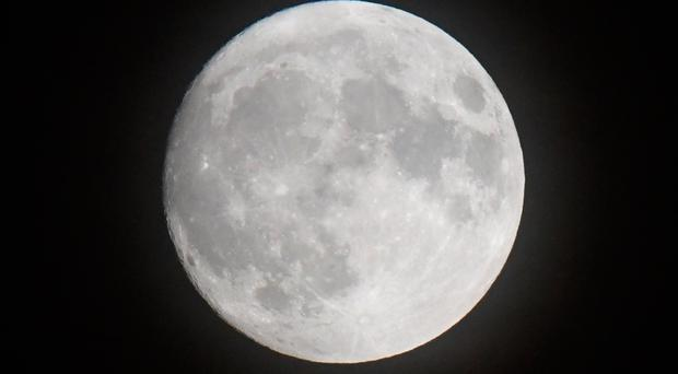 The rare supermoon will make the full lunar disc appear 14% bigger and up to 30% brighter than usual