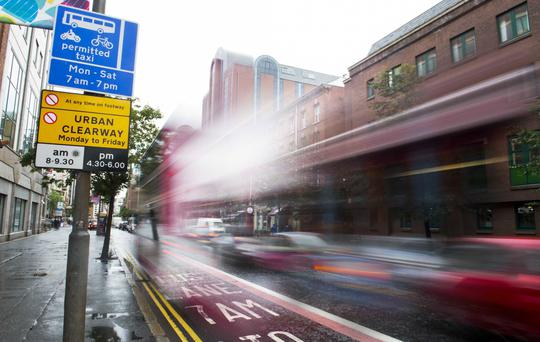More than 2,000 people have been fined for driving in Belfast's bus lanes - in the dead of night when buses aren't even running