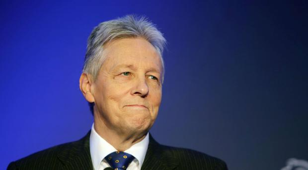 Peter Robinson says his position