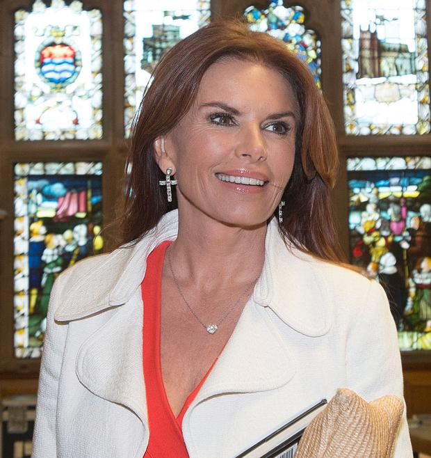 Roma Downey and her husband Mark Burnett are among the few people President-elect Donald Trump follows on Twitter