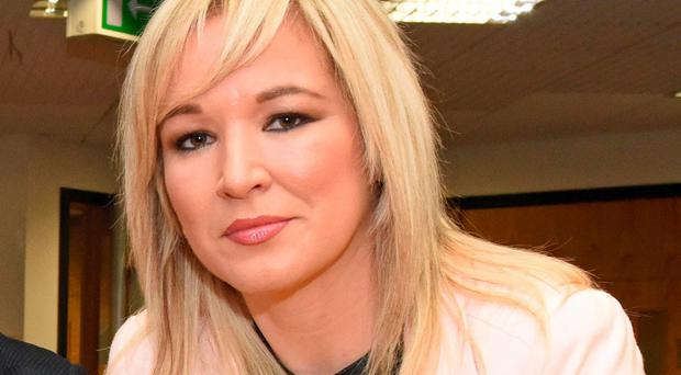 Determined: Health Minister Michelle O'Neill