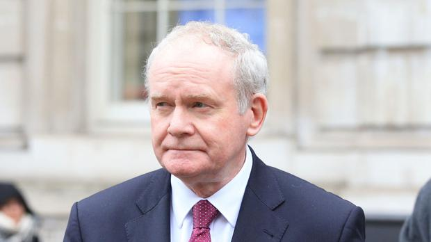 Martin McGuinness said he was not one of 40 witnesses interviewed by the NCA