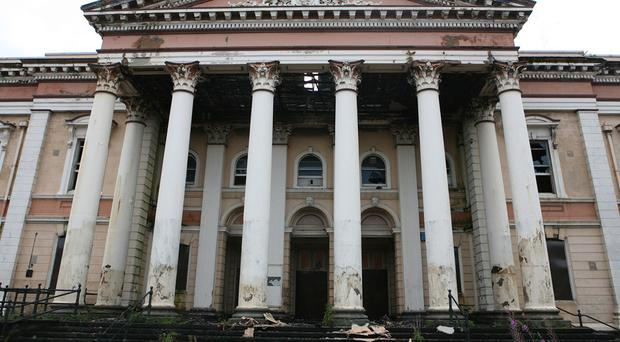 Theatre of dreams: Belfast's crumbling Crumlin Road courthouse