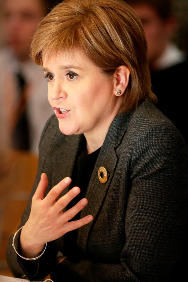 Nicola Sturgeon has been criticised by Sir Jeffrey Donaldson
