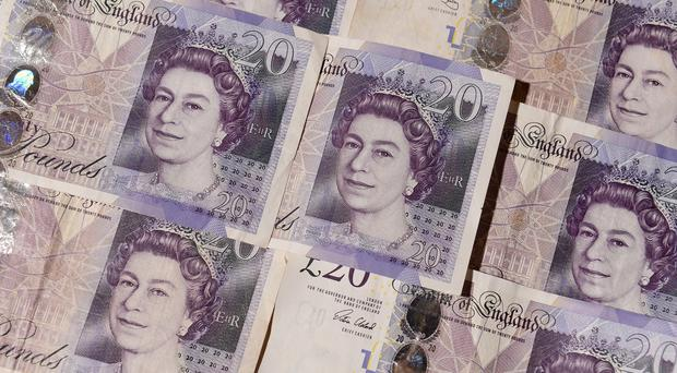 The average income of those who feel wealthy is £65,810 a year, a survey shows