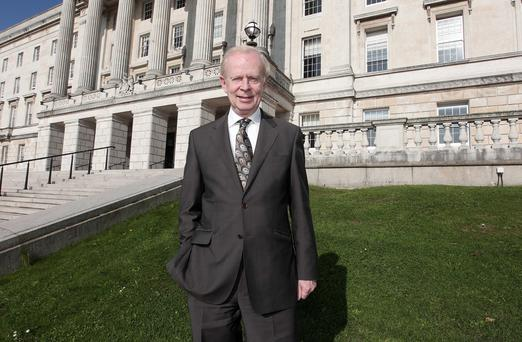 Delighted: Lord Empey