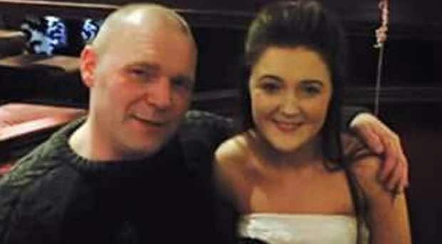 Darren Taylor with daughter Sheree