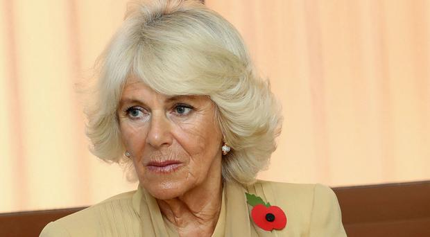 Camilla has visited Normandy Barracks in Aldershot