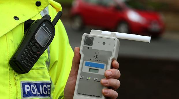 Police in Northern Ireland will carry out random breath tests